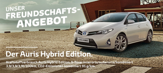 Der Auris Hybrid Edition.