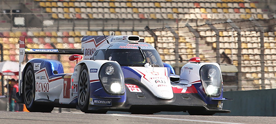 TOYOTA Racing shines in Shanghai