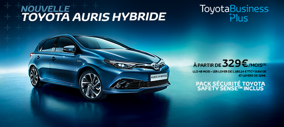Nouvelle Toyota Auris Business