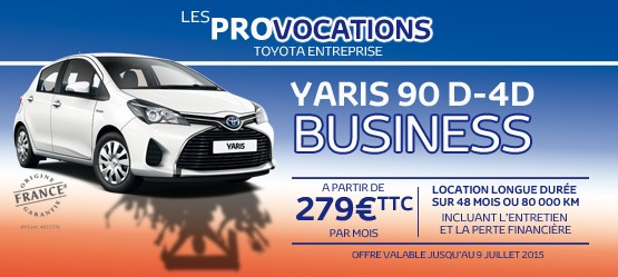 Yaris Diesel Business