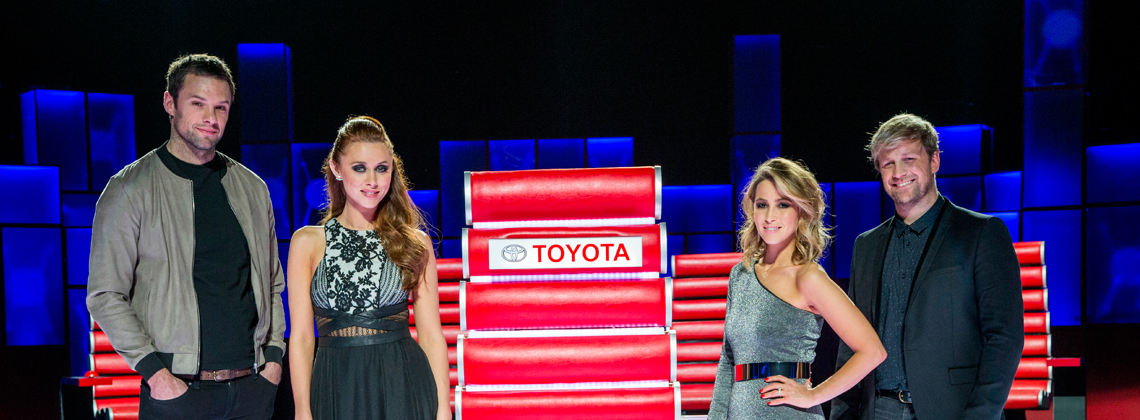 Toyota Ireland sponsor RTÉ's The Voice of Ireland
