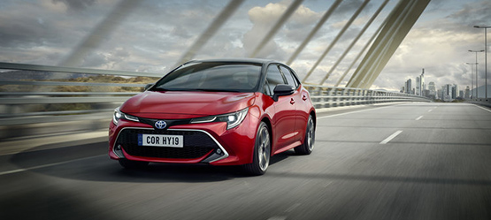 All-new 2019 Toyota Corolla Hatchback 1.2T Petrol from €24,380 or from €207 per month**