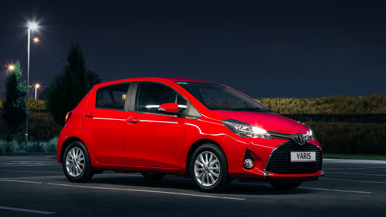 New-look Yaris