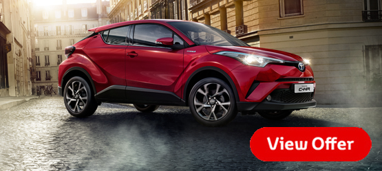 191 Toyota C-HR from €27,170 or €242 per month**