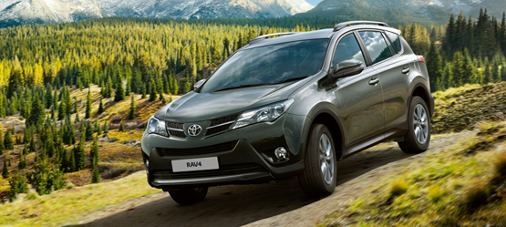 Drive a New RAV4 from €299 per month*