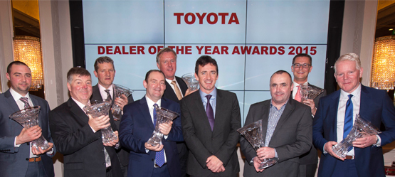 Toyota Announces Winners of Annual Dealer Awards 2015