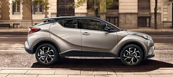 ... Toyota C-HR To celebrate the launch of the Toyota C-HR, Toyota is