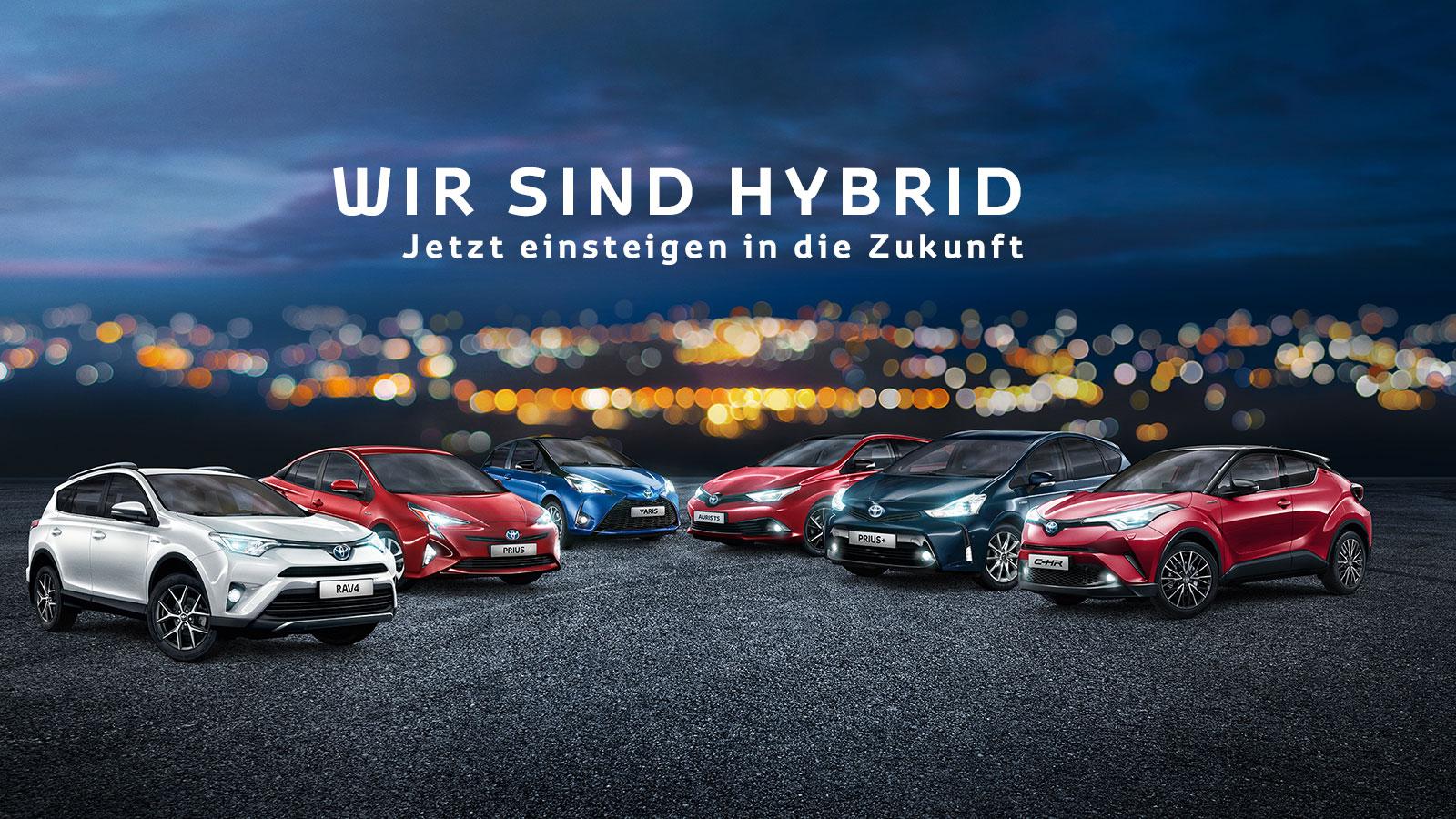 Toyota Hybrid Alle Unsere Hybridmodelle Auf Einen Blick