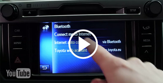 Toyota Touch 2 - Tutorial-Videos