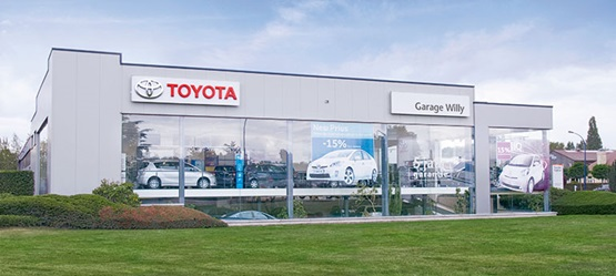 Toyota BusinessPlus Centers – Toyota Garage Willy