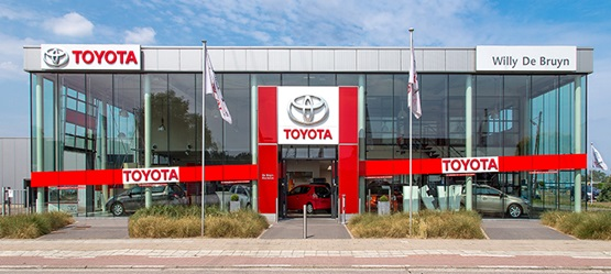 Toyota BusinessPlus Centers – Garage De Bruyn W NV Machelen