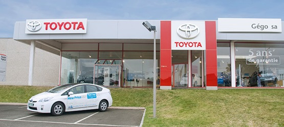 Toyota BusinessPlus Centers – Garage Gégo SA