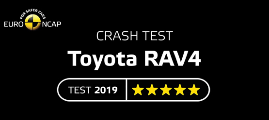Crashtest Toyota RAV4 Video