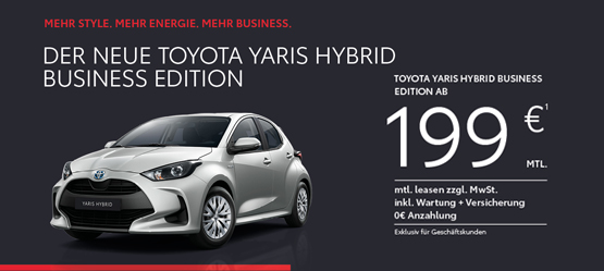 Yaris Hybrid Business Edition