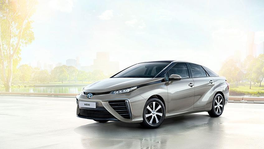 Brennstoffzellenauto Das Auto Der Zukunft Toyota De