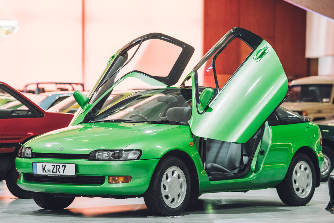 JDM Thementag in der Toyota Collection