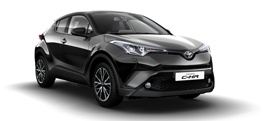 Nu kan du privatlease Toyota C-HR T2 C-LUB