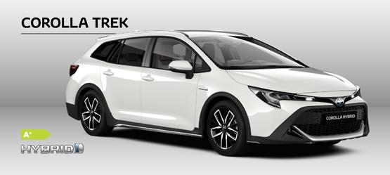 Den nye Corolla Touring Sports TREK