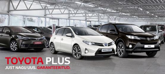 Toyota Plus – vali oma uus kasutatud auto