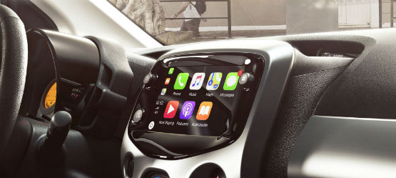 Android Auto y Apple CarPlay, en tu Toyota