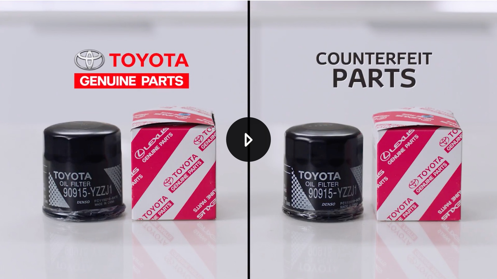 Genuine Toyota Parts >> Counterfeit Parts Toyota Europe