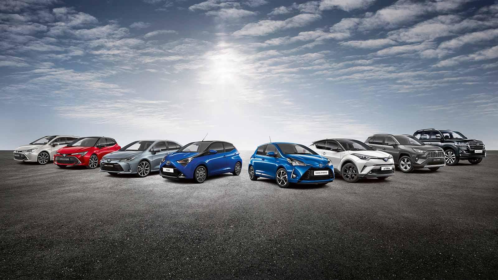 Toyota S Range Of Efficient Petrol Vehicles Toyota Motor Europe