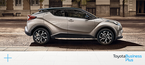 Toyota C-HR in business