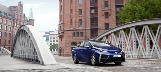 Long-distance driving with Toyota Mirai - a hydrogen fuel cell car