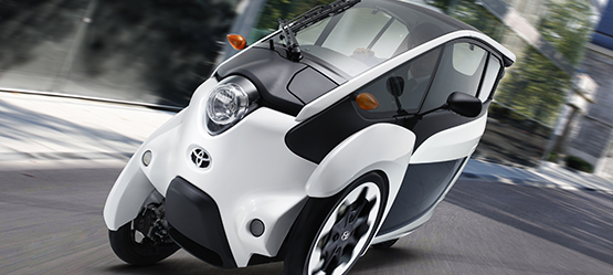 Toyota I-road Electric trike