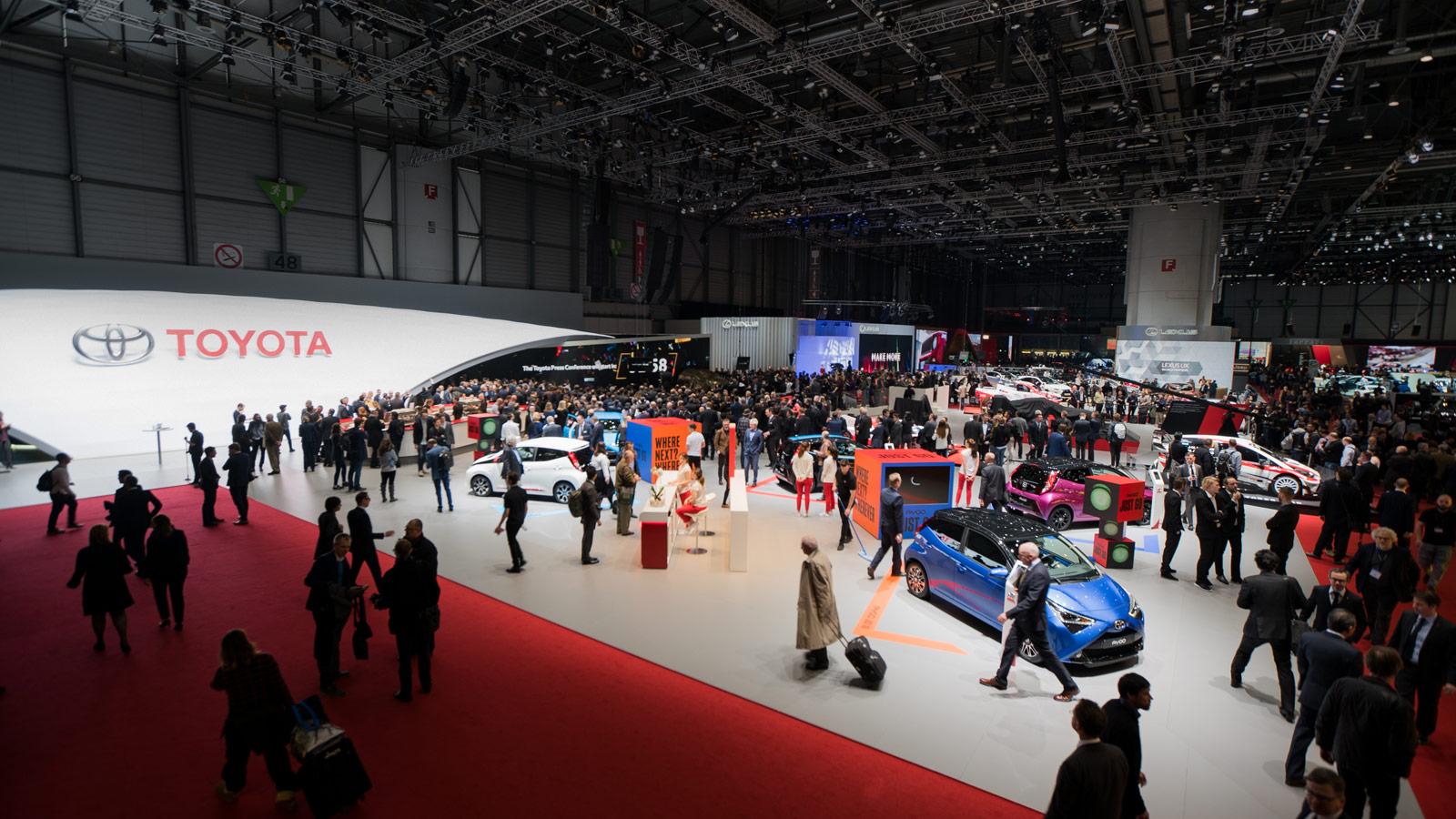Toyota at the 2018 Geneva Motor Show