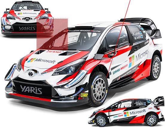 Toyota Gazoo Racing 2018 World Rally Championship Toyota Europe