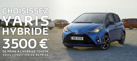 Nouvelle Toyota Yaris Hybride