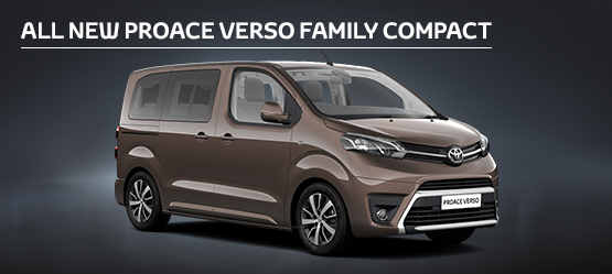 All New PROACE VERSO Family Compact