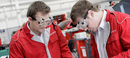 About Toyota Apprenticeships