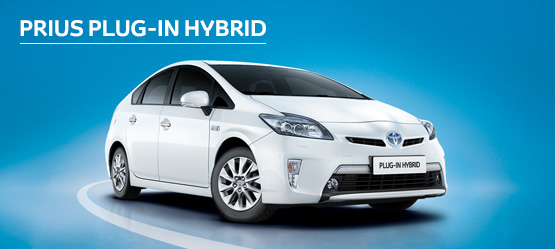 Prius Plug-in Hybrid from £236 + VAT per month† (Contract Hire)