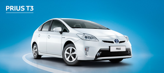 Prius T3 from £205 + VAT per month† (Contract Hire)