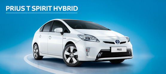 Prius T-Spirit from £231 + VAT per month† (Contract Hire)