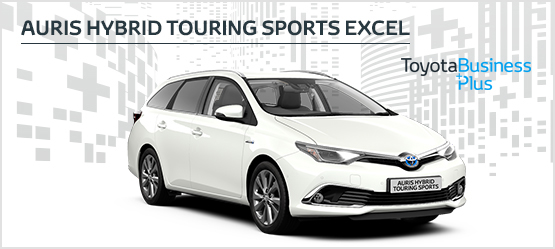 Auris Hybrid Touring Sports Excel from £229 + VAT per month* (Contract Hire)