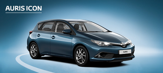 Auris Icon with £Nil advance payment (Motability Users Only).