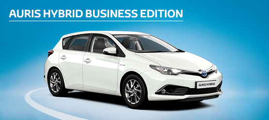 Auris Hybrid Business Edition from £199 + VAT per month† (Contract Hire)