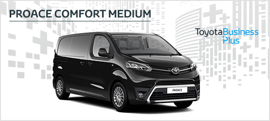 PROACE Comfort Medium from £249 + VAT per month* (Contract Hire)