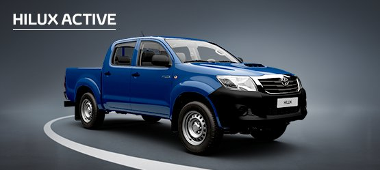 Hilux Active from £257 + VAT per month† (Finance Lease)