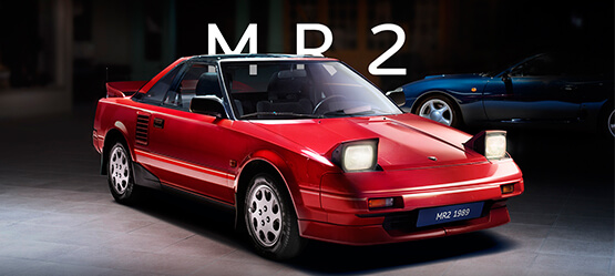 MR2 - History of Toyota sports cars