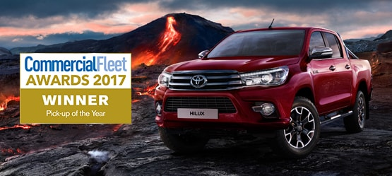 Hilux Invincible from £257 + VAT per month† (Finance Lease)