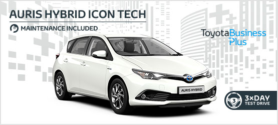 "<h3 style=""text-align: left;""><strong>Auris Hybrid Icon Tech £215 + VAT per month* (Maintenance included)</h3></strong>"