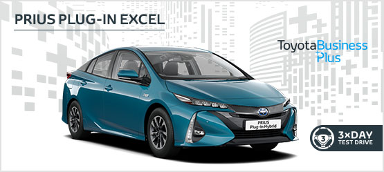 Prius Plug-in Hybrid Excel £289 + VAT per month* (Customer maintained)