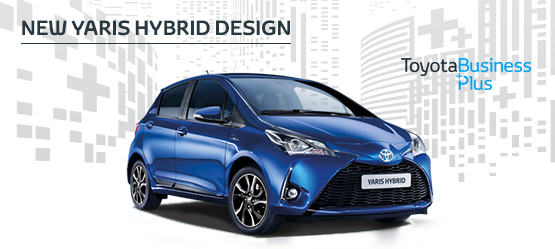 Yaris Hybrid Design from £209 + VAT per month* (Contract Hire)
