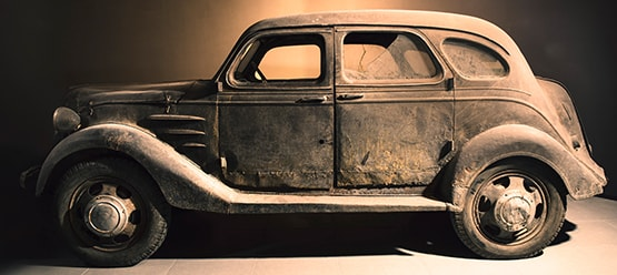 The Toyoda Model AA side view