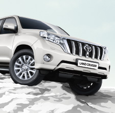 Land Cruiser 2013 | White | Exterior | Toyota UK