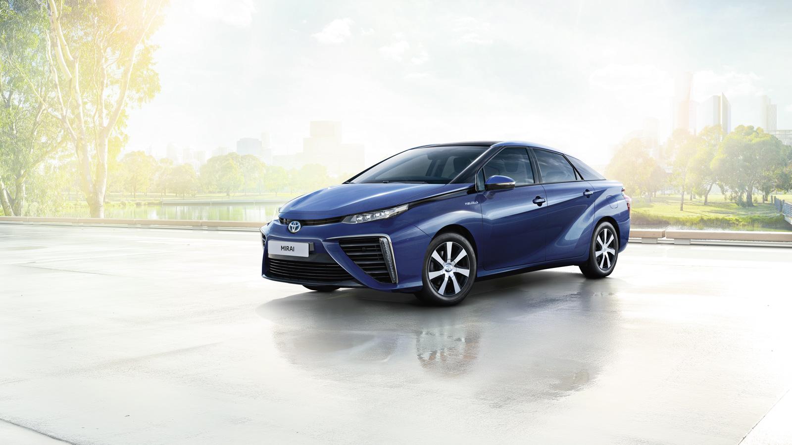 Toyota Sustainable Mobility | World of Toyota | Toyota UK